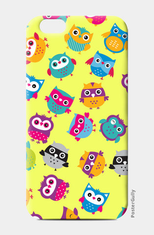 iPhone 6 / 6s, Chirpy Owls iPhone 6 / 6s Cases | Artist : Pratyusha Subramaniam, - PosterGully