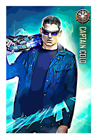 Captain Cold Art PosterGully Specials