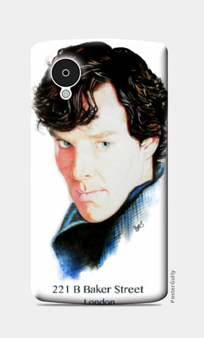 Nexus 5 Cases, Sherlock Nexus S5 Case | Artist: Tridib Das, - PosterGully