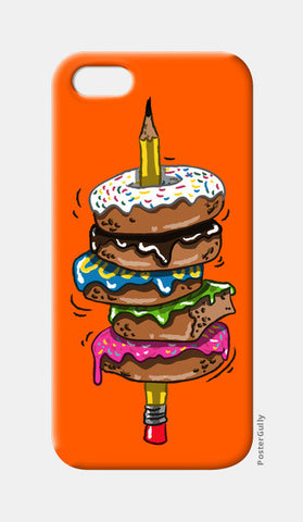 donut pen iPhone 5 Cases | Artist : abhilash kumar