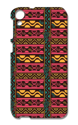 Abstract geometric pattern african style HTC Desire 820 Cases | Artist : Designerchennai