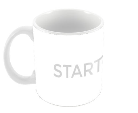 START LIVING Coffee Mugs | Artist : Danish Prakash