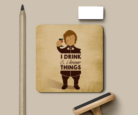 Tyrion Lannister - Game of Thrones Coasters | Artist : Neha Karnik