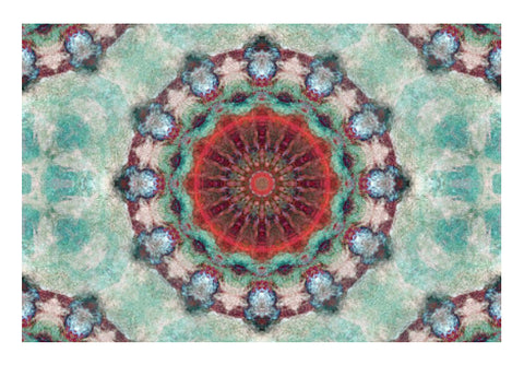 Wall Art, red kaleidoscope Wall Art | Artist: harshad parab, - PosterGully