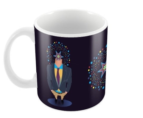 The Corporate Coffee Mugs | Artist : Tiny Dots