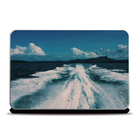 Sea Waves Laptop Skins | Artist : nandita sharma