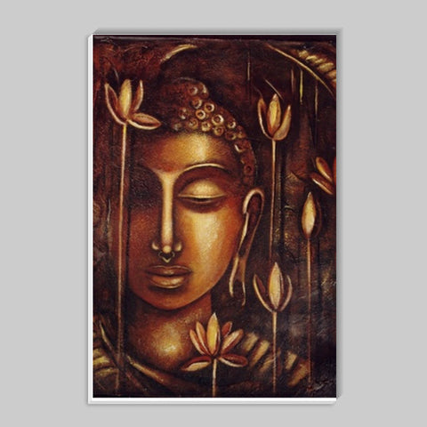 Golden Buddha Stick Ons | Artist : Raji Chacko classic paintings