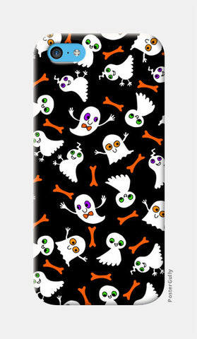Ghost Party iPhone 5c Cases | Artist : Shweta Paryani