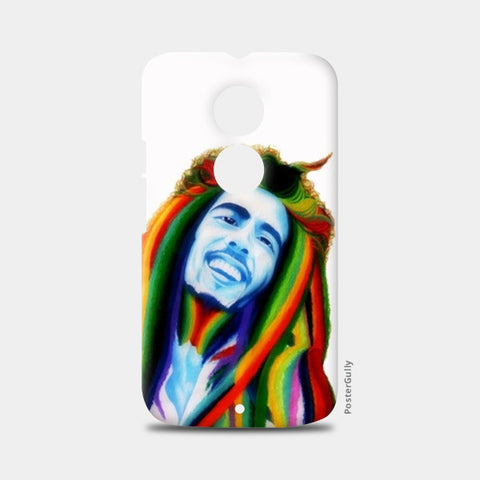 Bob Marley color theory Moto X2 Cases | Artist : Chandramouli Sivanandham