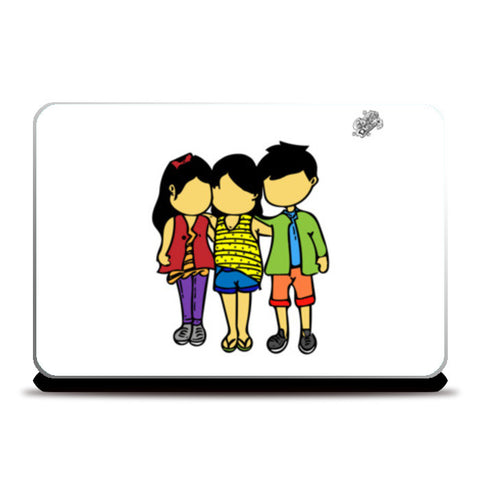 Laptop Skins, #GoggiGoggiEverywhere..!!! | Celebrating #TrueFriendship. Laptop Skins | Artist : Goggi's Doodles, - PosterGully
