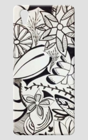 Abstract Floral One Plus X Cases | Artist : Purvisha Sharma