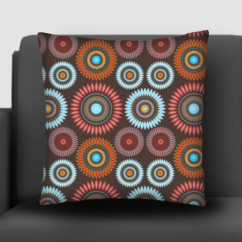 Flower Mandala Seamless Pattern Cushion Covers | Artist : Designerchennai