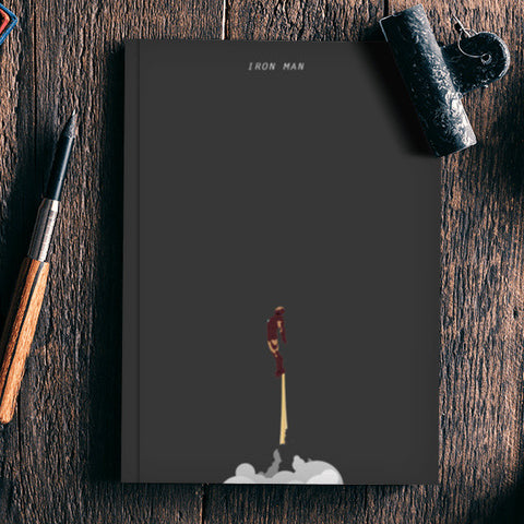 Iron Man Notebook | Artist : Gurmeet
