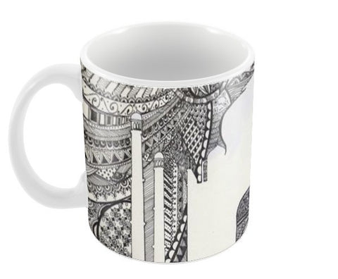 The TaJ Coffee Mugs | Artist : Kriti Pahuja