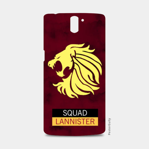 Squad Lannister | Game of Thrones One Plus One Cases | Artist : safira mumtaz