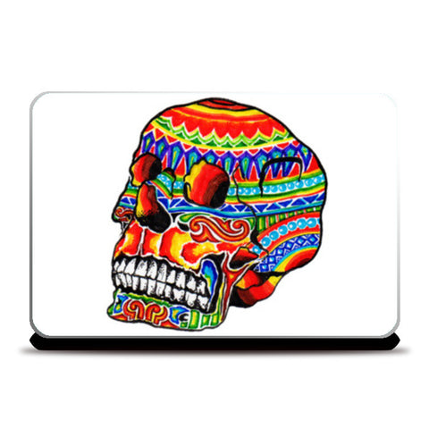 colorful life (after death) Laptop Skins | Artist : amit kumar