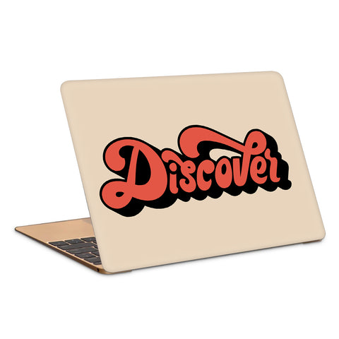 Discover Minimal Typography Artwork Laptop Skin