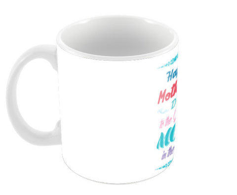 Greatest Mom Typography Coffee Mugs | Artist : Designerchennai