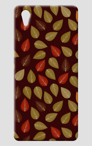 Seamless pattern with multicolored leaf on dark background One Plus X Cases | Artist : Designerchennai