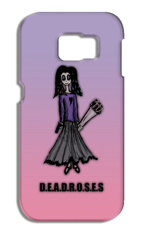 Deadroses Samsung Galaxy S6 Edge Cases | Artist : Sidhant Sharma