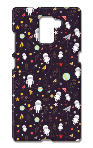 Astronaut Pattern Huawei Honor 7 Cases | Artist : Designerchennai