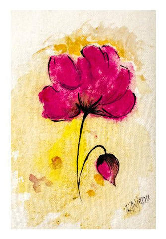 PosterGully Specials, Floral (Water Color) Wall Art | Artist : Ardour Art, - PosterGully