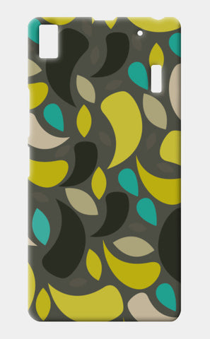 Seamless leaf geometric shapes Lenovo A7000 Cases | Artist : Designerchennai