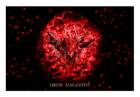 House Targaryen Art PosterGully Specials