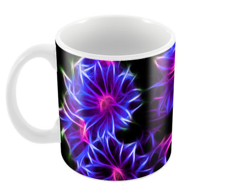 Mystic flowers Coffee Mugs | Artist : Madhumita Mukherjee