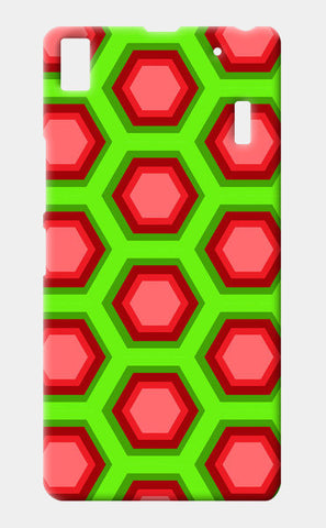Lenovo A7000 Cases, Hexagon Pattern Lenovo A7000 Cases | Artist : Design_Dazzlers, - PosterGully