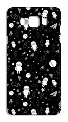 Astronaut black and white Samsung Galaxy J7 2016 Cases | Artist : Designerchennai
