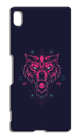 The Wolf Sony Xperia Z4 Cases | Artist : Inderpreet Singh