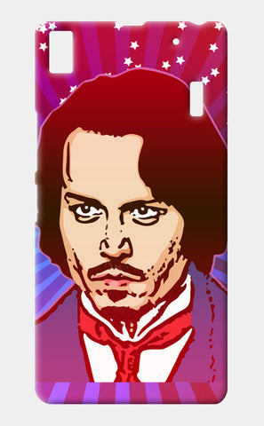 Lenovo A7000 Cases, Johnny Depp Hollywood Actor Lenovo A7000 Cases | Artist : Design_Dazzlers, - PosterGully