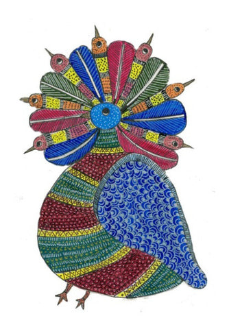Wall Art, Tribal Art  Wall Art I Gayatri Iyer, - PosterGully