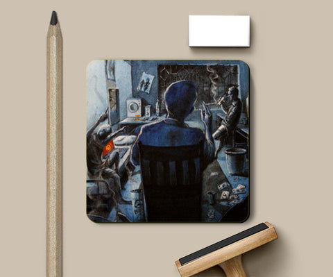 Coasters, Hostel Saturdays - Painting Coasters | Artist : Smeet Gusani, - PosterGully
