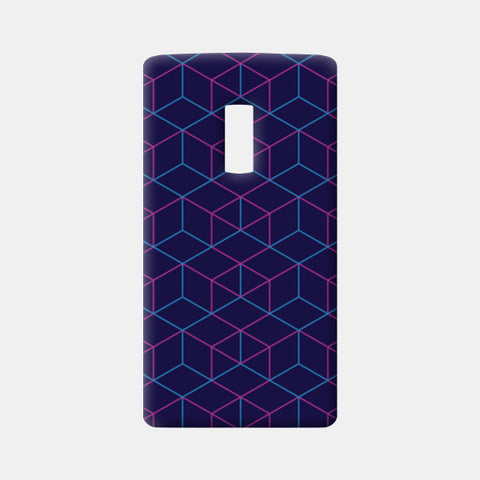 One Plus Two Cases, Isometric Pattern One Plus Two Cases | Artist : Jobin Jacob, - PosterGully