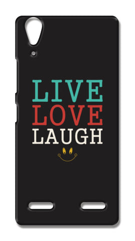 Live Love Laugh Lenovo A6000 Cases | Artist : Designerchennai