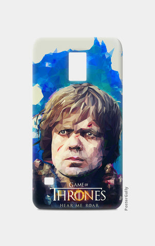 Samsung S5 Cases, Hear me roar - Tyrion Lannister LowPoly Samsunng S5 case | cuboidesign, - PosterGully