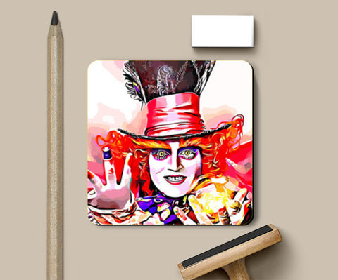 Mad Hatter Coasters | Artist : Delusion