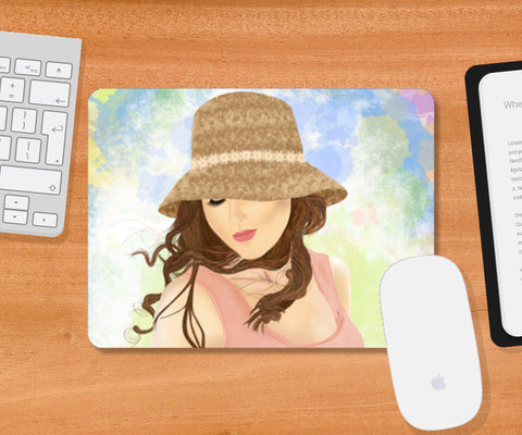 Mousepad, Girl Mousepad | Artist : Deepak NT, - PosterGully