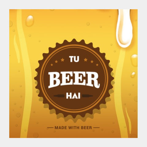 Square Art Prints, Tu Beer Hai Square Art Prints | Artist : Tejeshwar Prasad, - PosterGully