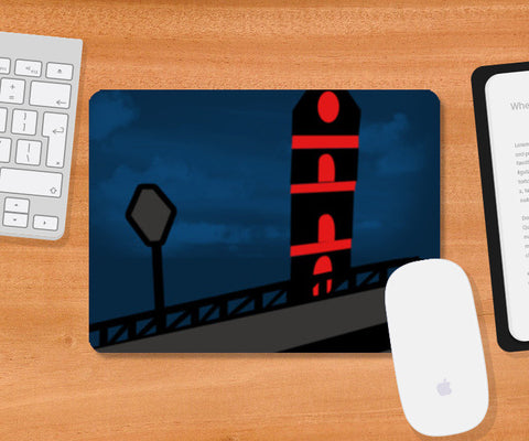 Light House Mousepad | Artist : Nisha Prabhu