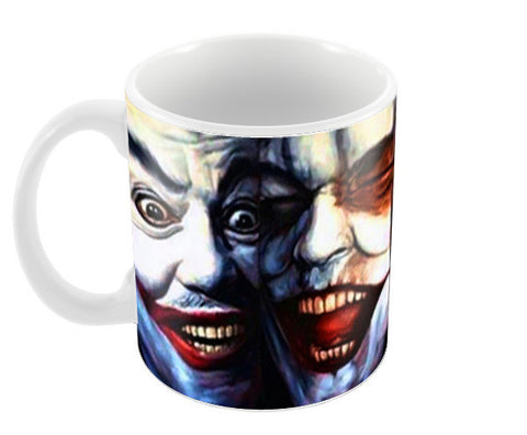 joker batman gotham dark knight  Coffee Mugs | Artist : BY Darakhsha Dandekar, Karan Mehta and Udit Shah