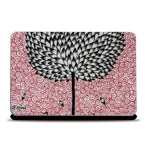 Tree of Life (Ink art) Laptop Skins | Artist : Ardour Art