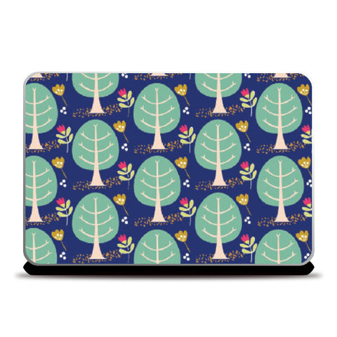 Laptop Skins, floral Laptop Skin | looshmoosh, - PosterGully