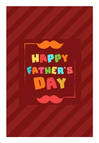 PosterGully Specials, Happy father's day typography Wall Art | Artist : Designerchennai, - PosterGully