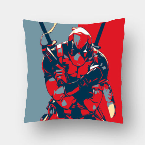 Cushion Covers, Deadpool Cushion Covers | Artist : LinearMan, - PosterGully