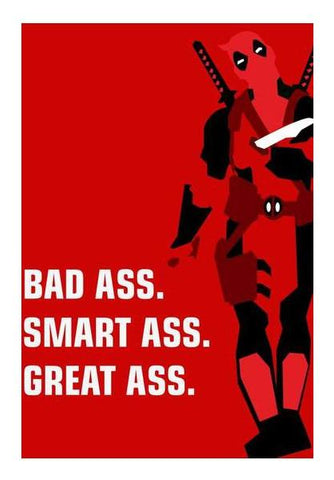 PosterGully Specials, DEADPOOL Wall Art | Artist : DISHA BHANOT, - PosterGully