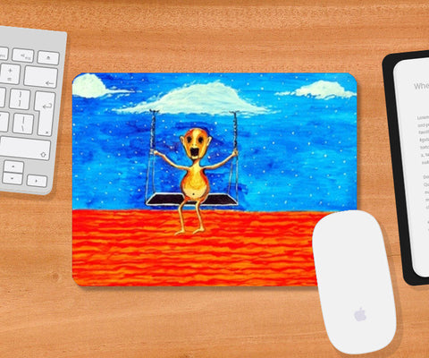Mousepad, On Cloud9 Mousepad | Artist : Ramkumar Iyer, - PosterGully