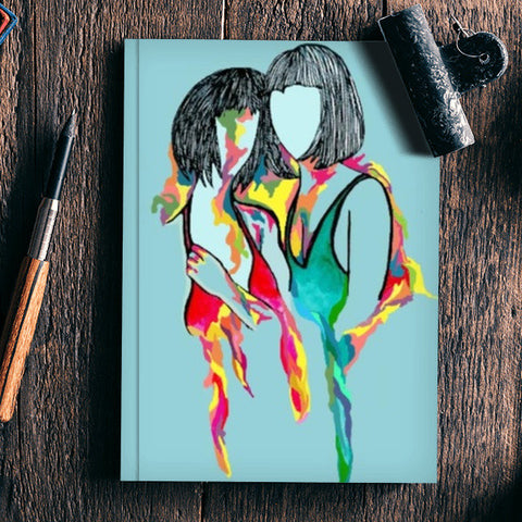 Bleeding Colour Notebook | Artist : Priyanka Paul